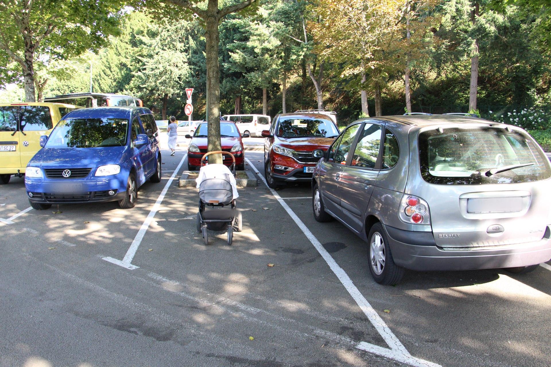 Parkplatz Quimper