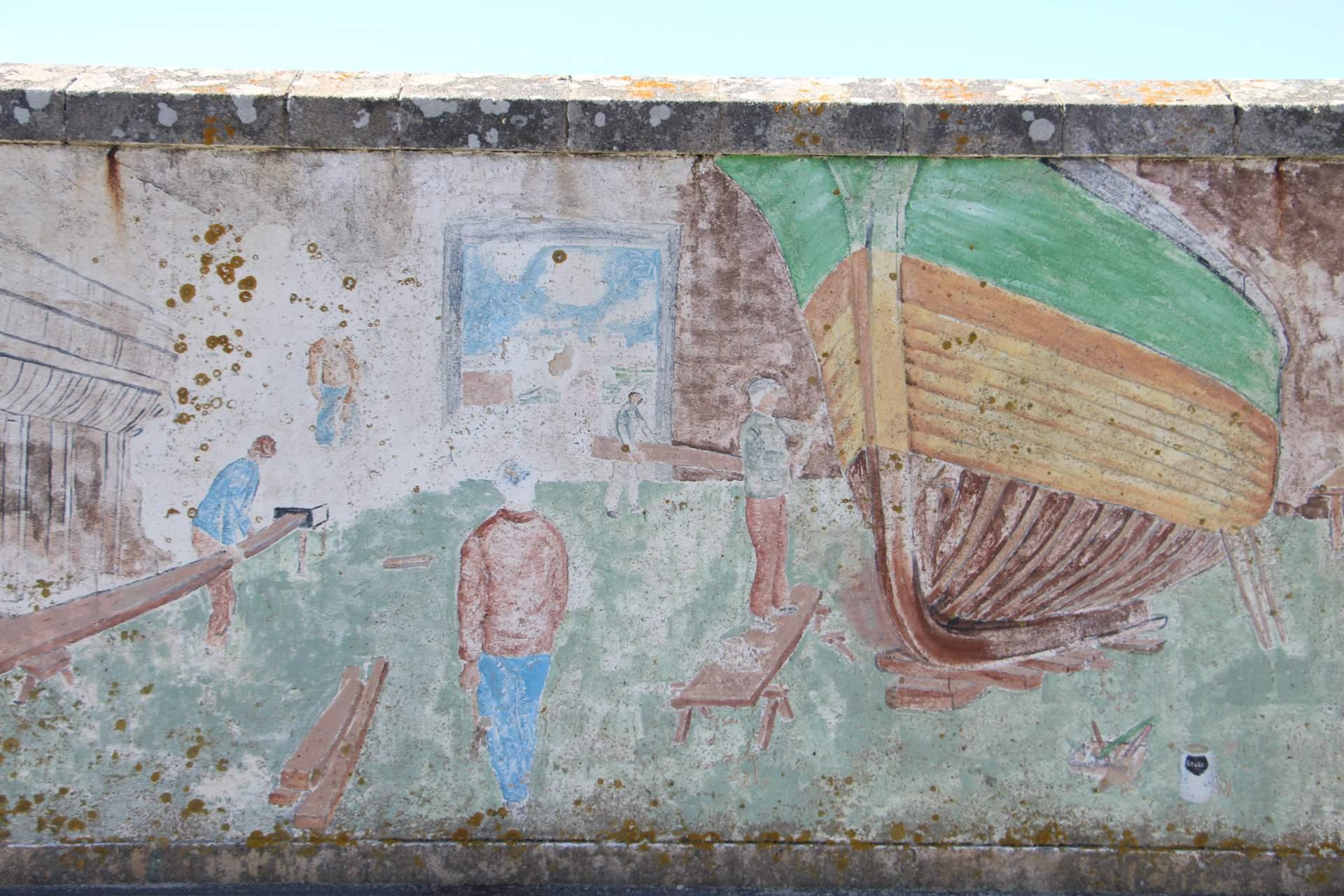 Steinmauer Penmarch