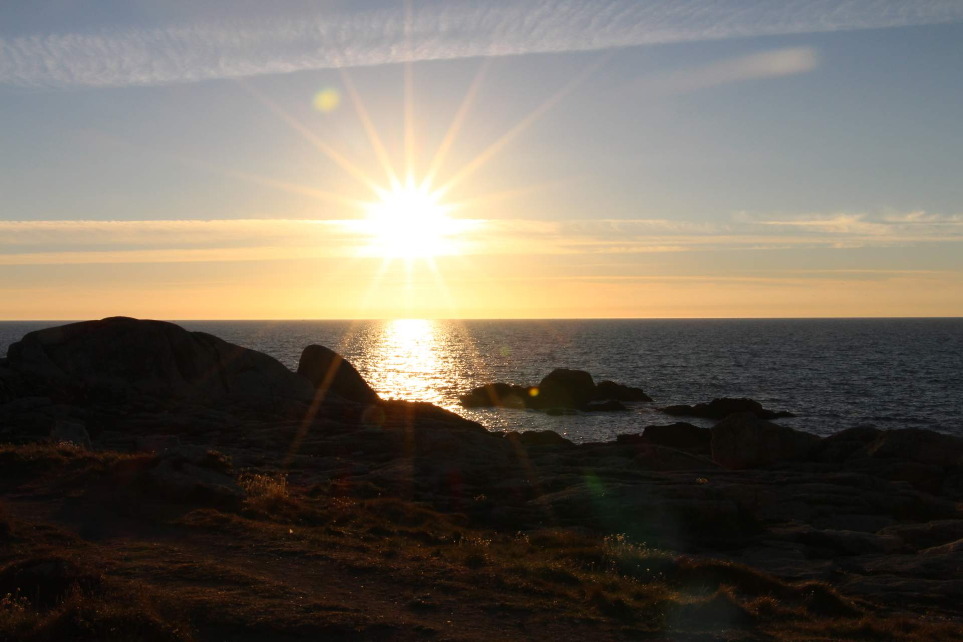 Sonnenuntergang Penmarch