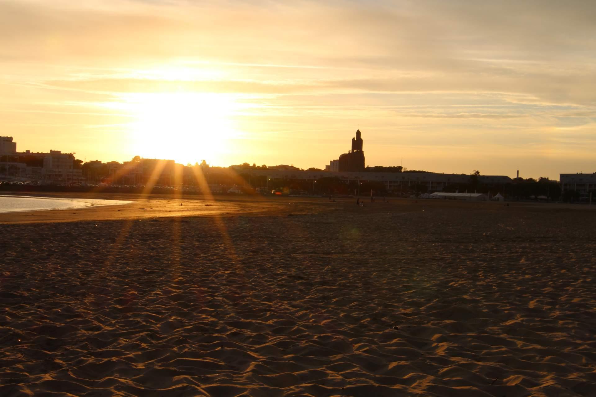 Royan Sonnenuntergang