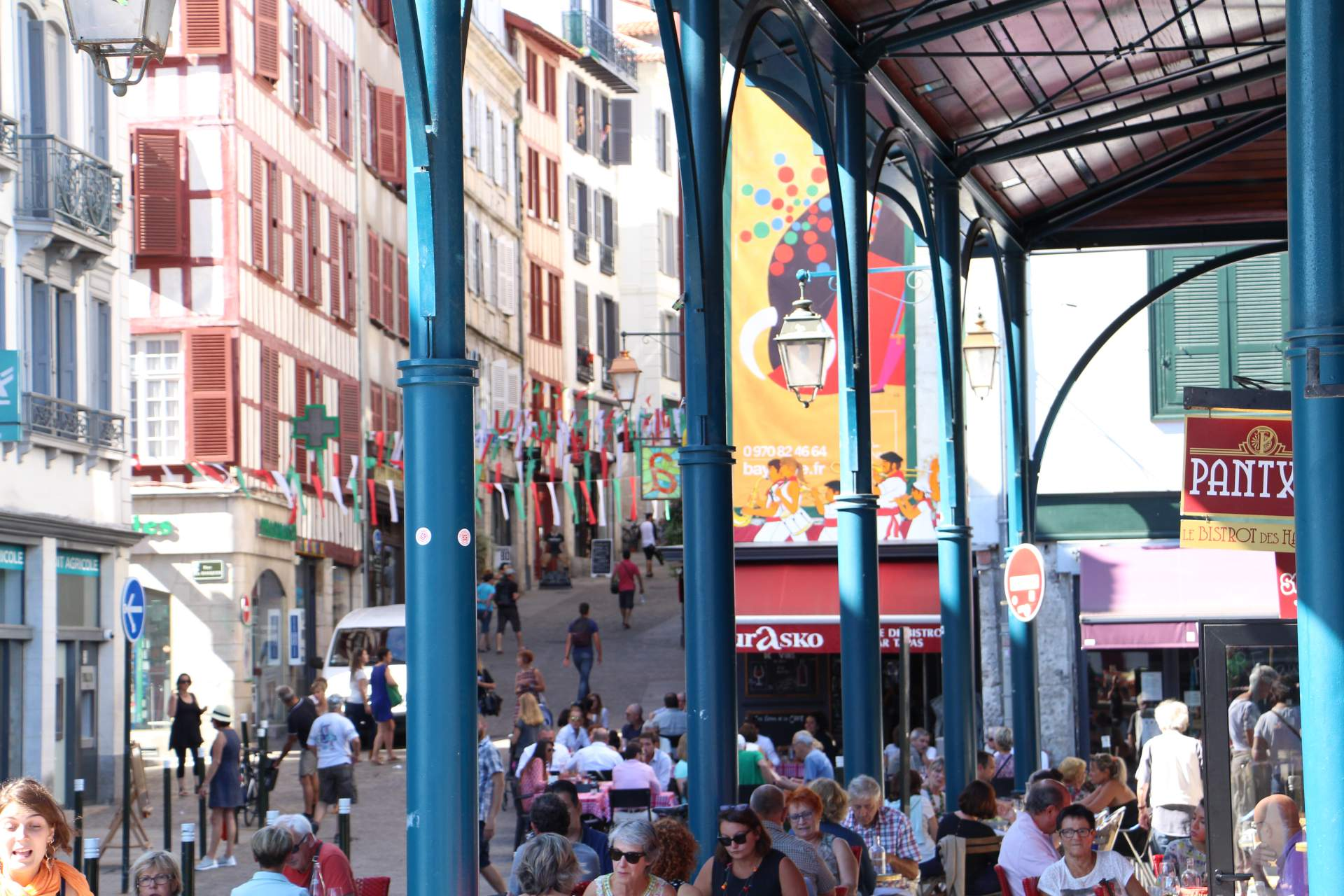 Markthalle in Bayonne