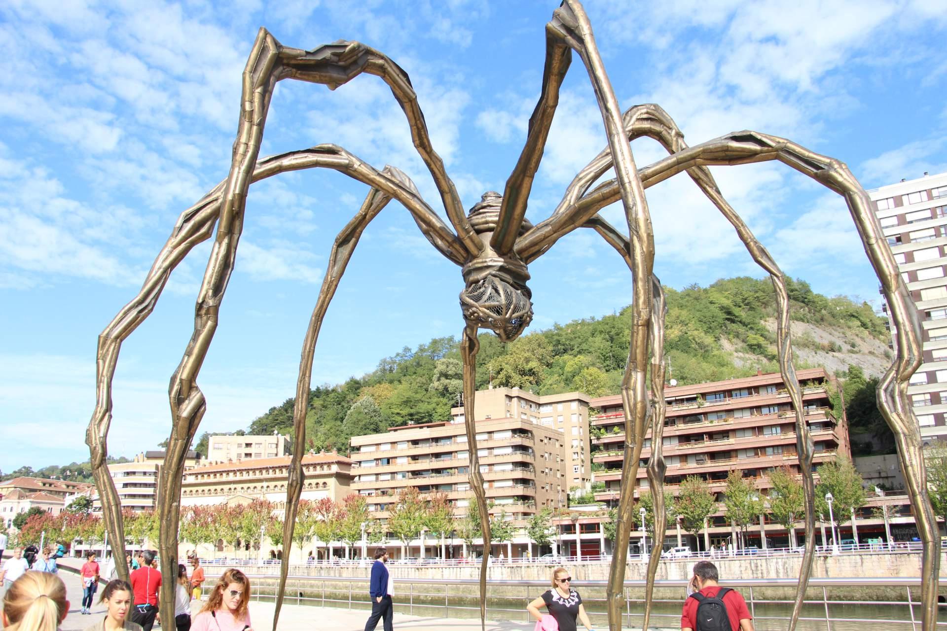 Bilbao Spinne Marma