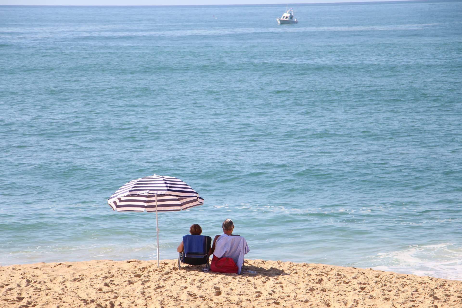 Capbreton am Strand