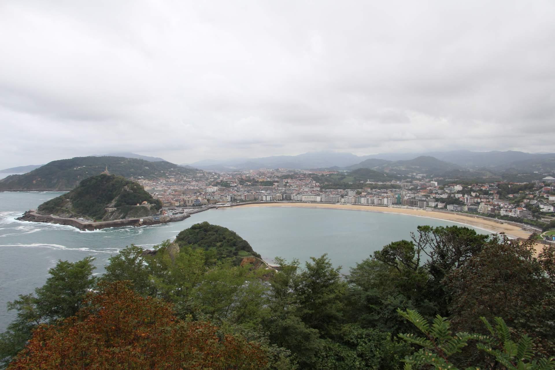 La Concha Igueldo San Sebastian
