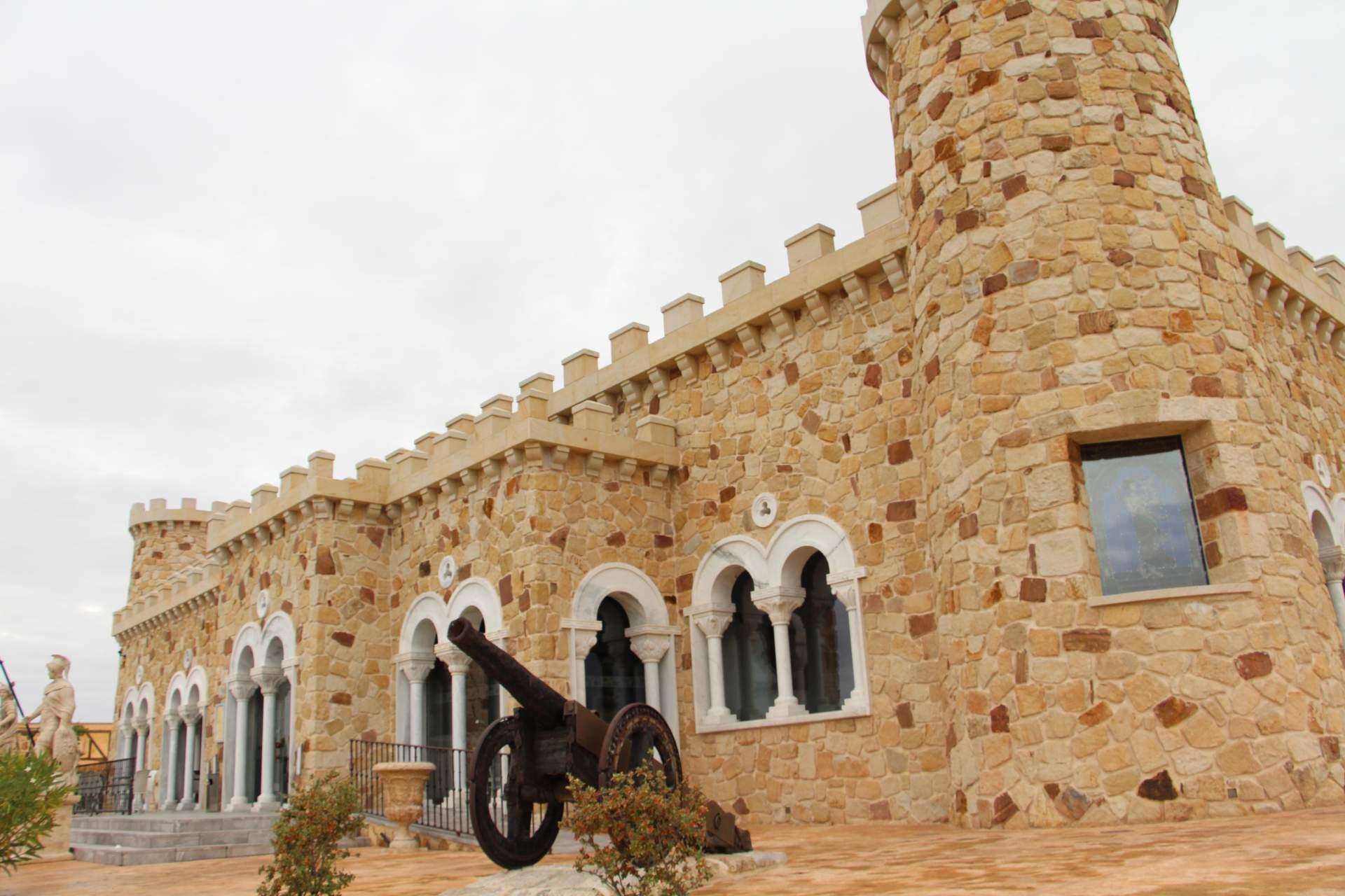 Castillo de Izan zwischen Burgos und Madrid