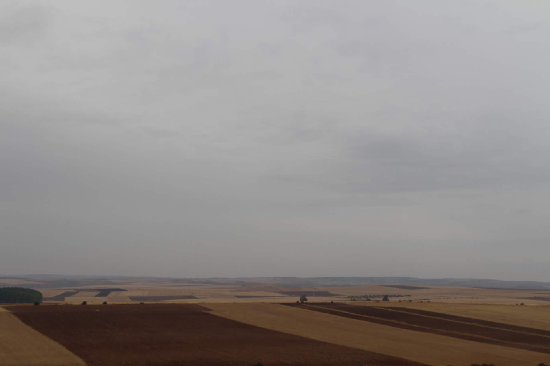 Felder zwischen Burgos und Madrid